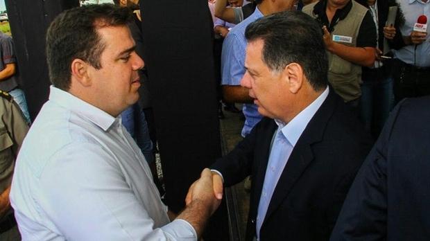 Marconi Perillo é tido como conselheiro informal de Gustavo Mendanha