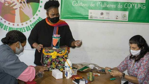 Projeto da Comurg produziu e distribuiu gratuitamente cerca de 12 mil máscaras durante a pandemia