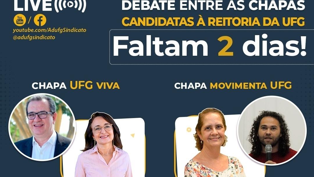 Duas mulheres, Sandramara Chaves e Maria Clorinda, disputam Reitoria da UFG