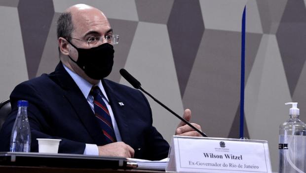 Witzel interrompe depoimento e pede para sair da CPI da Covid
