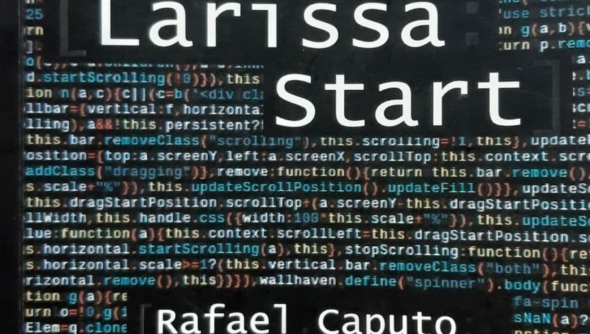 """Romance """"Larissa Start"""", de Rafael Caputo, discute temas como suicídio, eutanásia, perdão e amor"""