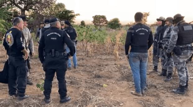 Após relato de morador, polícia concentra buscas por Lázaro Barbosa em uma região de bananal