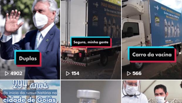 """Músicas e memes: Ronaldo Caiado adota perfil """"descolado"""" em redes sociais e conquista público jovem"""