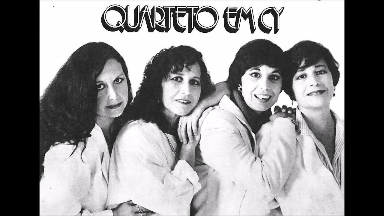 """O Quarteto em Cy brilhou cantando """"Sabiá"""", de Tom Jobim e Chico Buarque"""