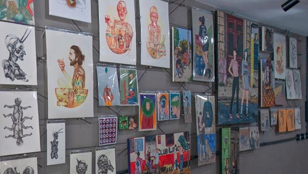 Habite Galeria reabre para visitações presenciais com espaço para jovens artistas goianos