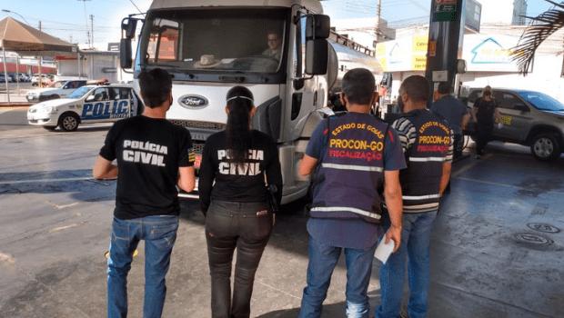Agentes encontram irregularidades em postos de combustíveis em Goiânia e Anápolis