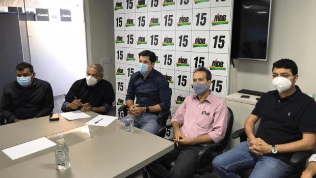 Em carta, prefeitos do MDB defendem aliança com governador Ronaldo Caiado