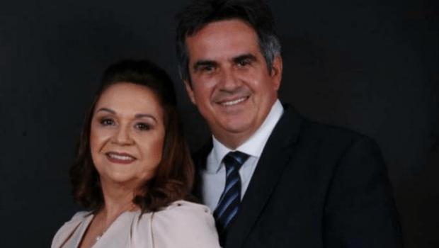 Eliane Nogueira, mãe de Ciro Nogueira, toma posse no senado no lugar do filho