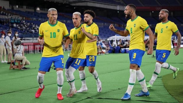 Após vencer Egito, Brasil disputa com México vaga na final olímpica do futebol