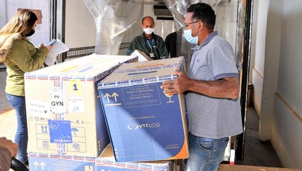 Goiás recebe mais 233 mil doses de Pfizer e Coronavac