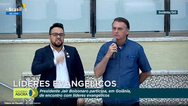 """""""Tenho 3 alternativas para o meu futuro: estar preso, ser morto ou a vitória"""", diz Bolsonaro durante evento em Goiânia"""