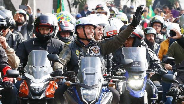 Bolsonaro irá participar de motociata em Goiânia