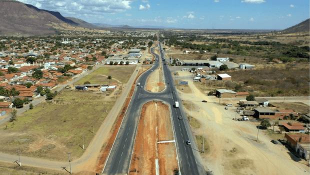 Obras em trecho da BR-020, localizado entre municípios de Alvorada do Norte e Simolândia, são finalizadas