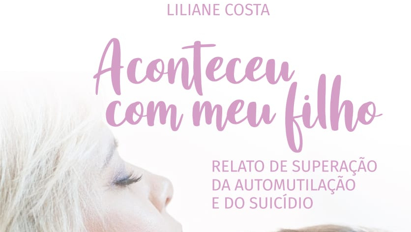 Livro discute a superação da automutilação e do suicídio