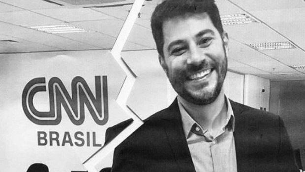 Evaristo Costa revela que descobriu que foi demitido da CNN pela televisão
