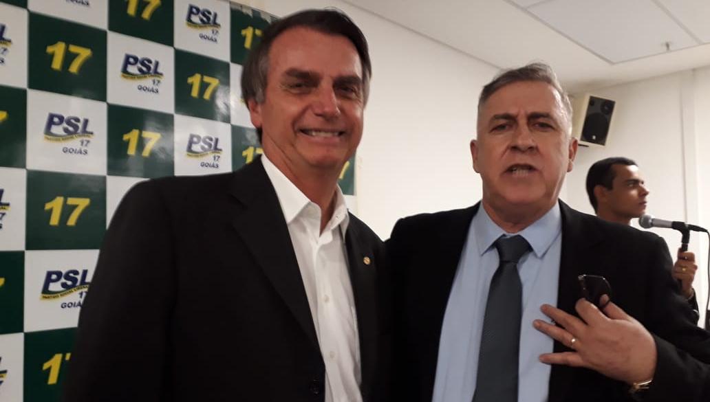 Capitão Wagão vai disputar mandato de deputado federal pelo PSL