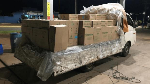 R$ 800 mil em medicamentos são apreendidos na G0-244, a caminho de Tocantins