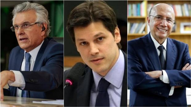 Chapa governista terá Ronaldo Caiado, Daniel Vilela e Henrique Meirelles