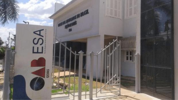 Nova sede da Escola Superior de Advocacia de Goiás será entregue nesta sexta-feira, 17