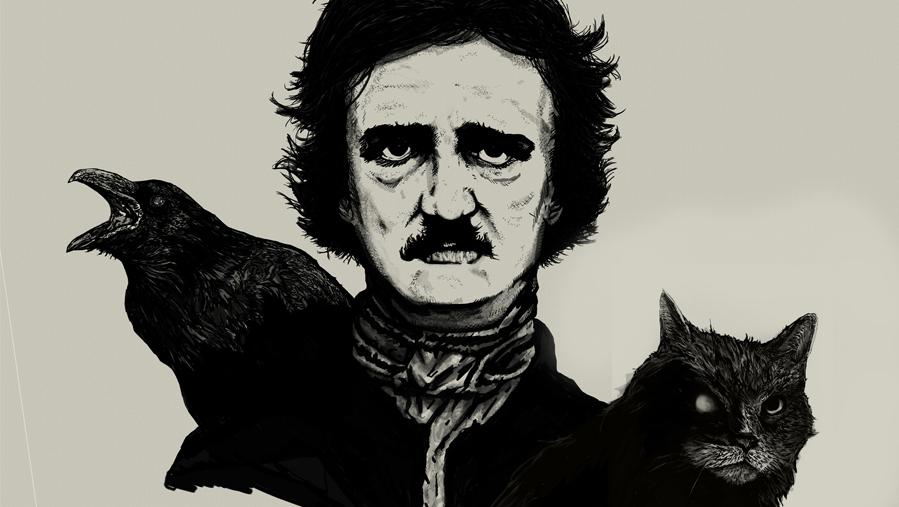 Escritor como personagem (3): Edgar Allan Poe — O insuspeito, de CJ Oliveira