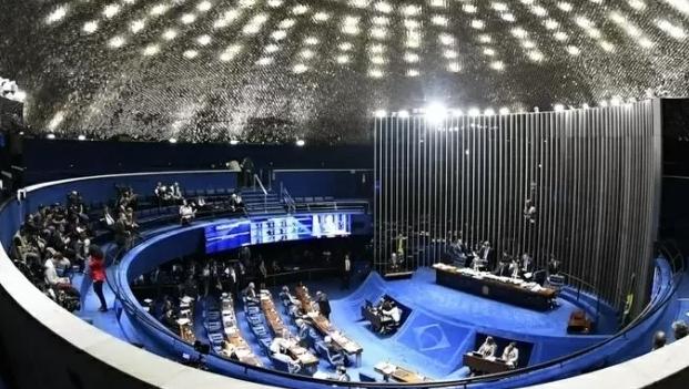 Dois dos três senadores goianos votaram a favor da reforma trabalhista no Senado