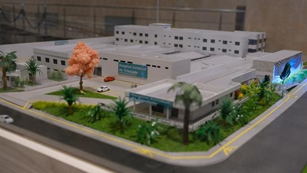 Governo anuncia ampliação do Hospital Hetrin, em Trindade
