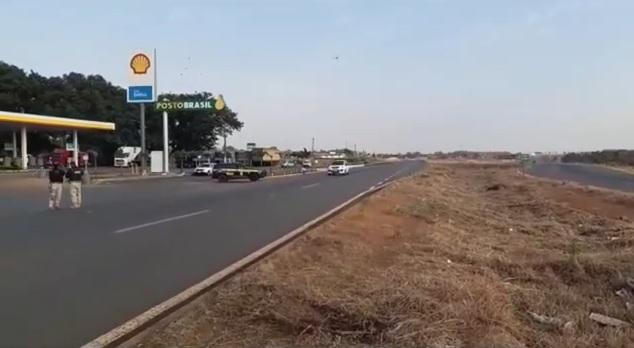 PRF registra apenas um bloqueio de caminhões em Goiás; não há interdições