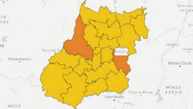 Em situação inédita, Goiás não registra nenhum município em situação de calamidade por causa da pandemia
