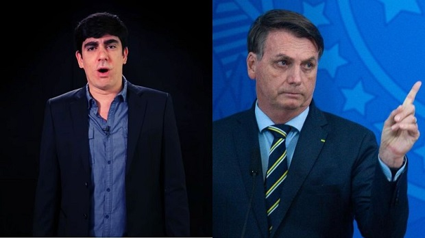 """Adnet grava áudio ironizando mensagem de Bolsonaro aos caminhoneiros: """"Dancem a macarena!"""""""