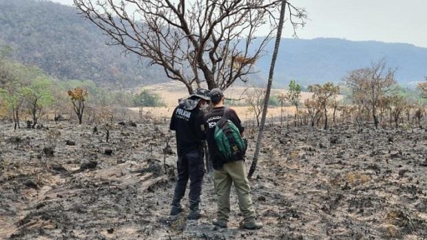 Identificados suspeitos de provocar incêndio na Chapada dos Veadeiros
