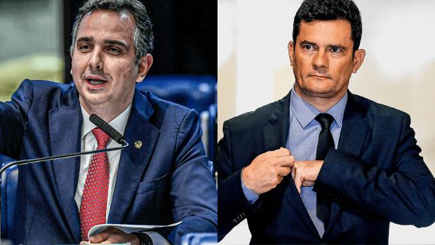 Rodrigo Pacheco e Sérgio Moro definem partidos para filiação