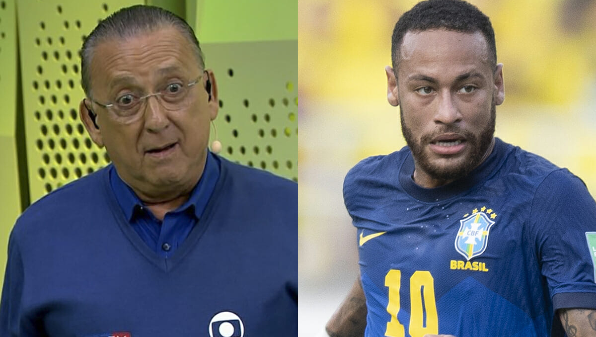 Galvão Bueno está mais irritado com Neymar ou com a Globo?
