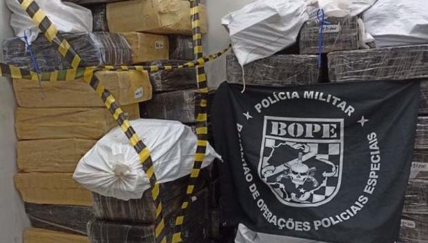 Polícia apreende 2,5 toneladas de maconha que seriam distribuídas em Goiás e no  Maranhão
