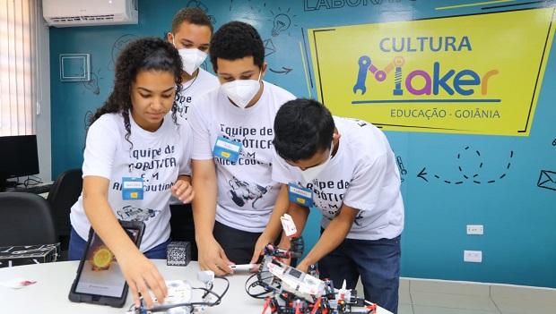Primeiro Laboratório Maker é entregue pela rede municipal de Educação