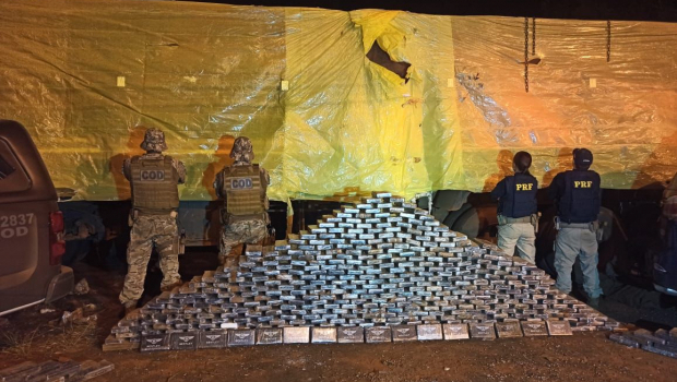 Meia tonelada de cocaína é apreendida em estrada de Goiás