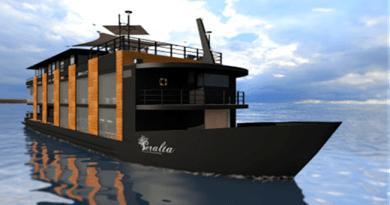 Barco Hotel Peralta é o primeiro Barco Hotel de luxo no Pantanal
