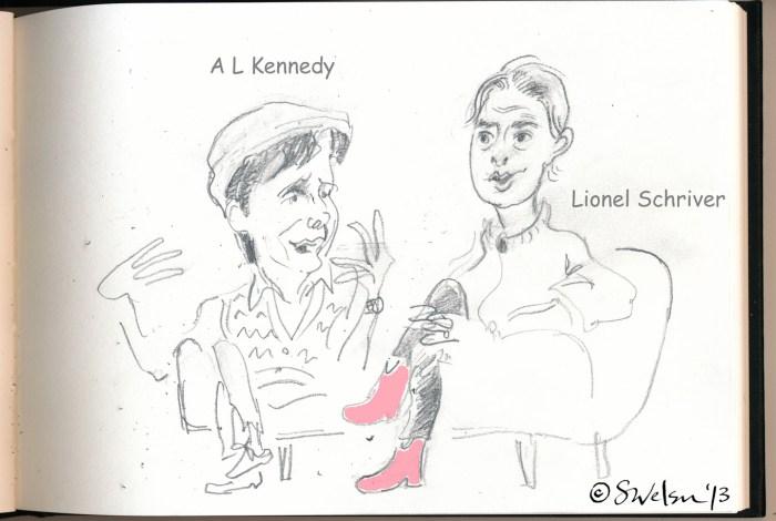 LionelShriver&ALKennedy