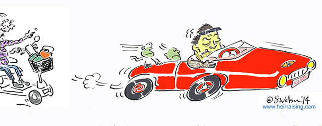 Porche Boxter sports car - Sat Nav