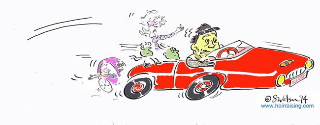 Sat Nav - Ollie puts his foot down in his Boxster Porsche
