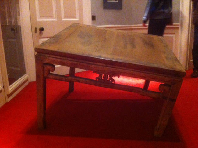Ai Wei Wei - coffee table