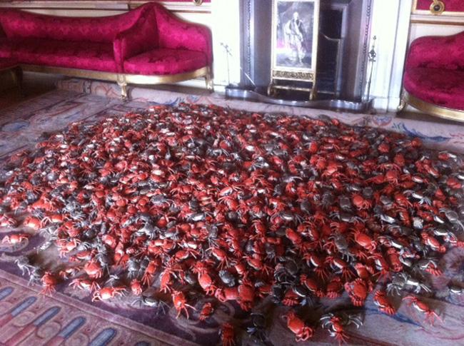 River crabs by Ai Wei Wei