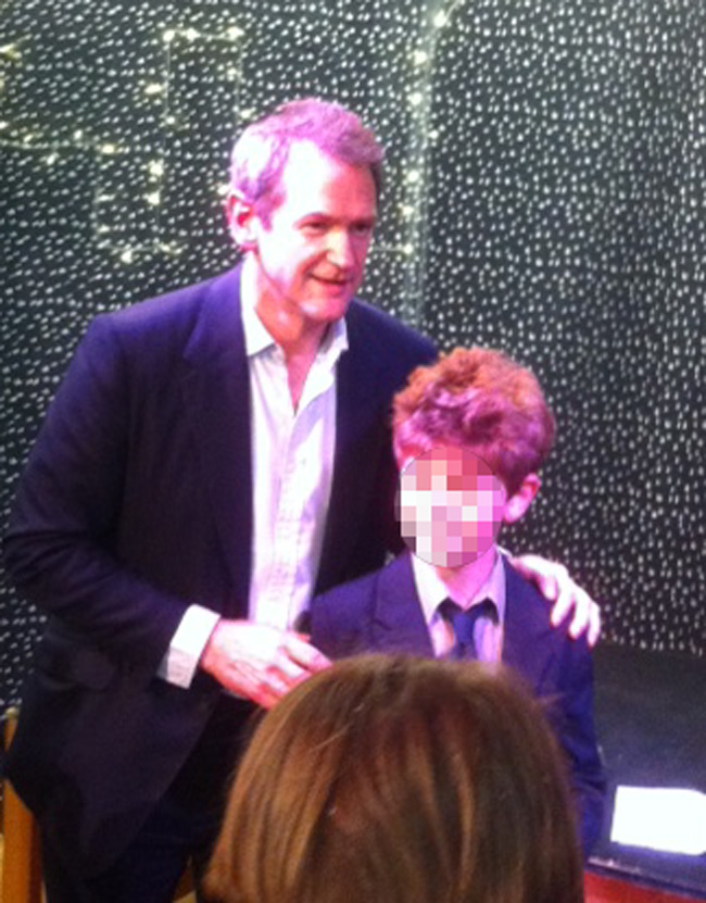 Alexander Armstrong at Family Links