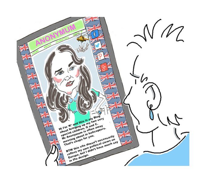 The Ten Commandments: Though shalt have no other Blogs before me, Kate Middleton, The Duchess of Cambridge