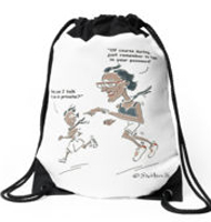 Higher Flyer Drawstring bag
