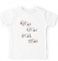Rabbit hole children's T-shirt
