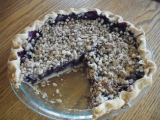 BlueberryCreamPie