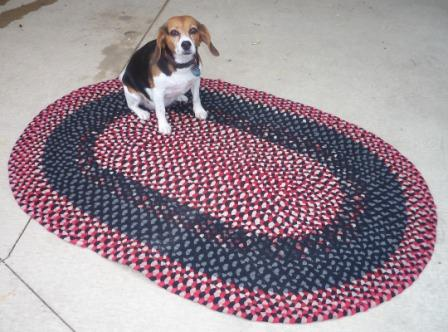 Rug-red