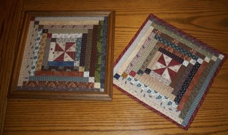 Finishing Up My Quilt Squares