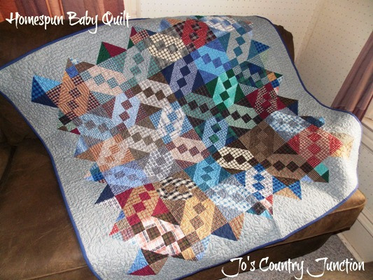 HomespunBabyQuilt