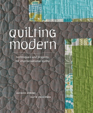 Quilting Modern - jacket art